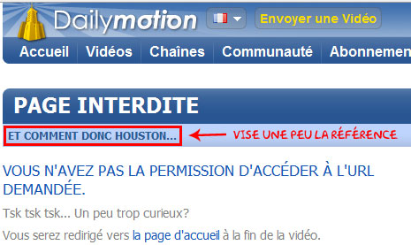 Dailymotion-reference