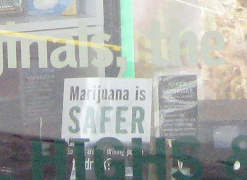 Marijuana-safer