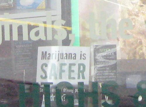 Marijuana-safer